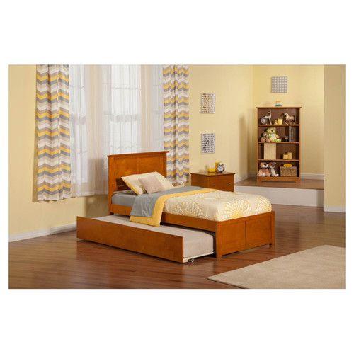 Wasilewski Platform Bed With Trundle Atlantic Furniture Bedroom Sets Kid Beds