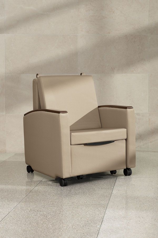Chair Sleepers Are Often Specified In Hospital Furniture And