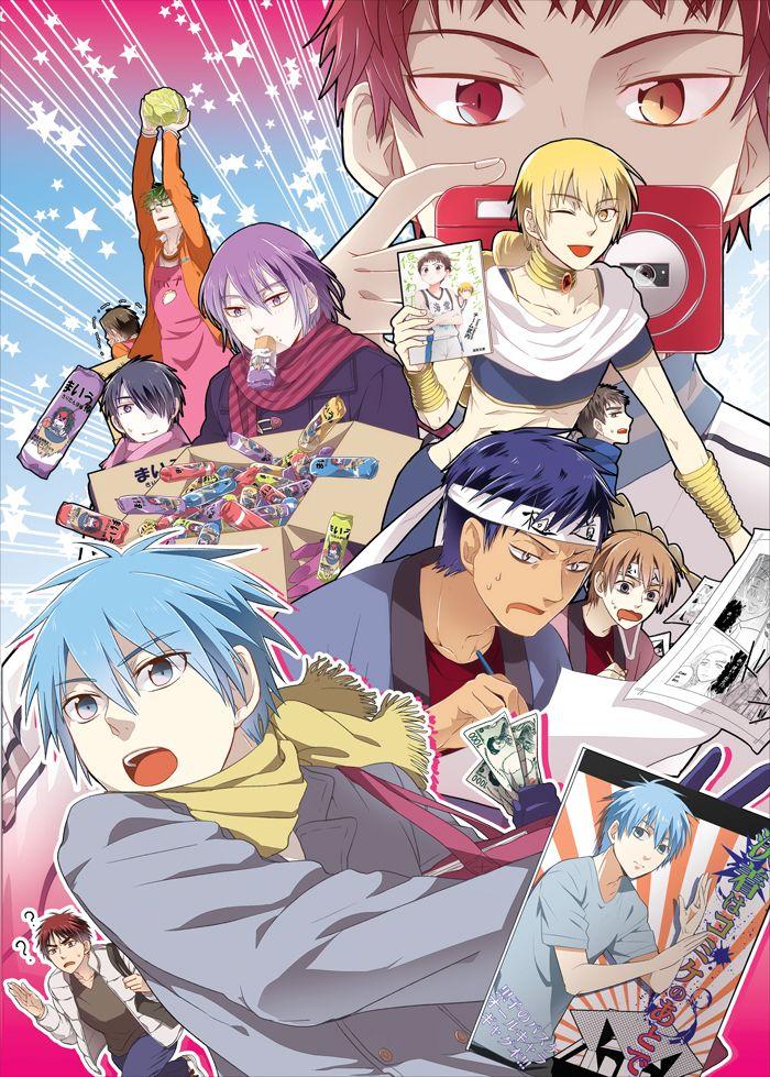 Kuroko no Basuke Kuroko no basket, Anime, Kuroko