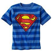 Superman Striped Tee - Boys 4-7