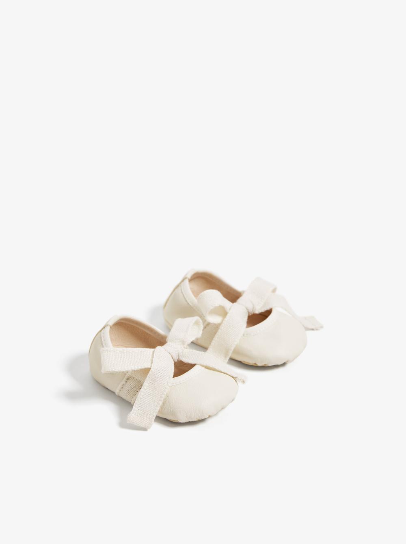 ZARA Australia | Leather ballet flats