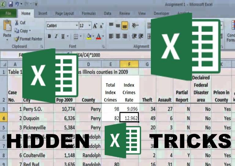 Not knowing Excel shortcuts can turn any simple spreadsheet into a