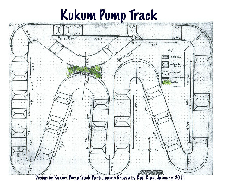 Final Design Bike Pump Track Motocross Tracks Dirt Bike Track