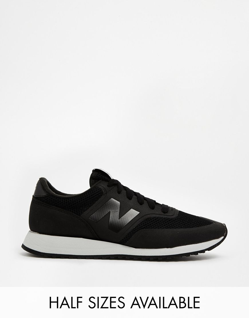 new balance 620 black trainers