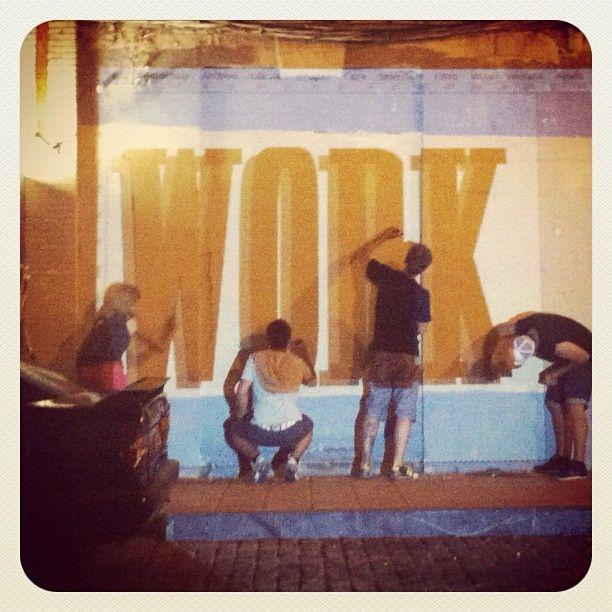 Photo by @juansinaka • Instagram  @festivalasalto de noche, eme work hard-play hard!! #festivalasalto
