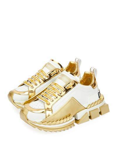 Dolce \u0026 Gabbana Super Queen Metallic