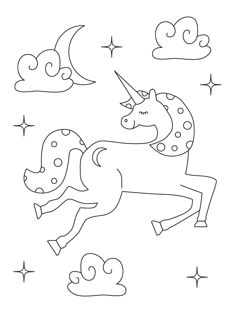 9 Printable Unicorn Coloring Pages | Unicorn coloring ...