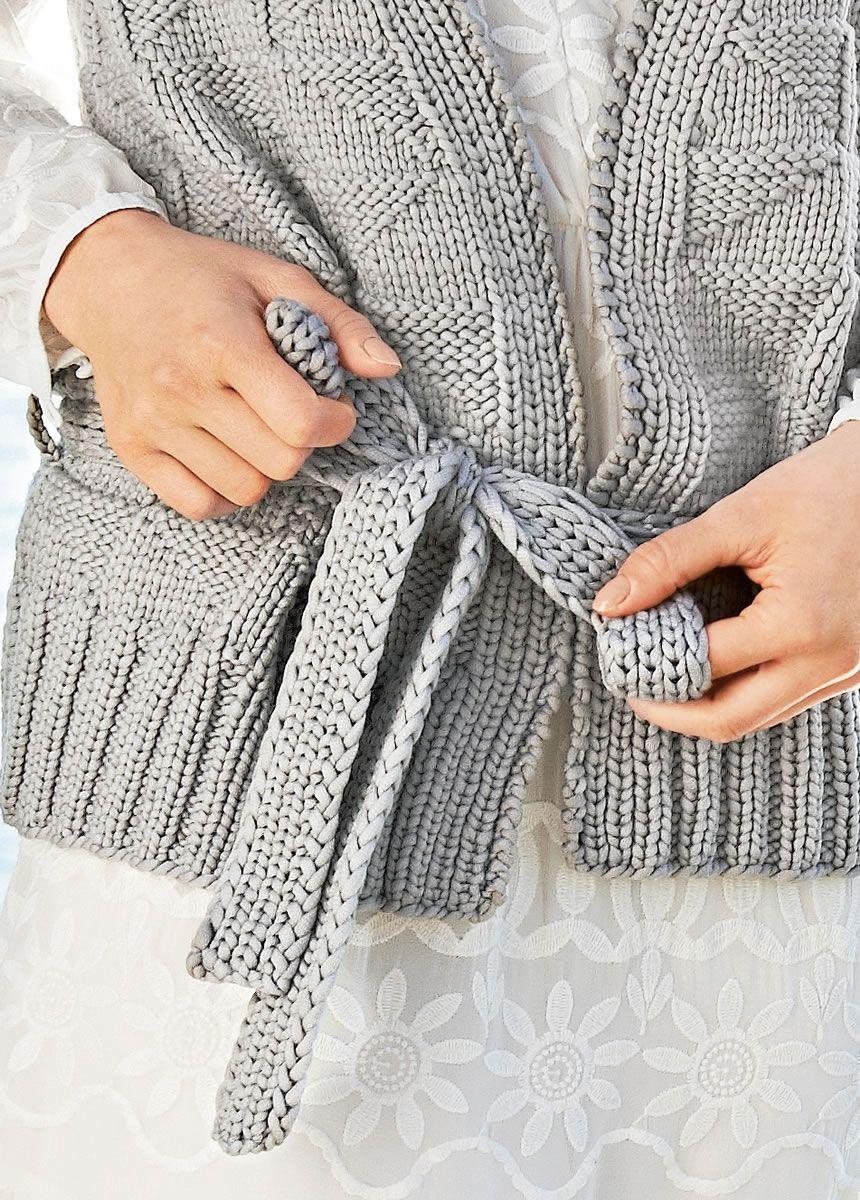 Lana Grossa WESTE Cashsilk - LINEA PURA No. 8 - Modell 1 | Pinterest ...