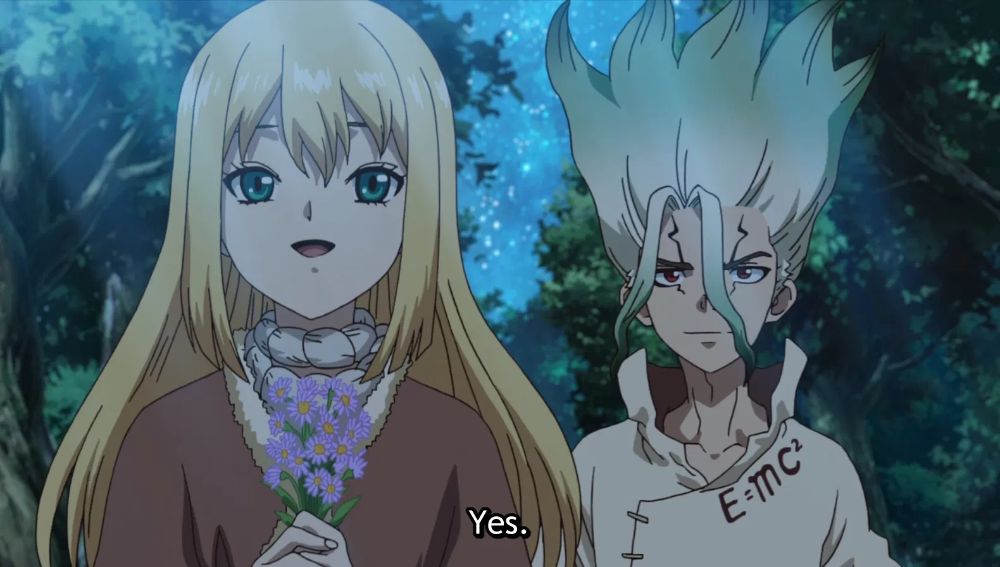 Dr. Stone Episode 17 Good Things Come Anime, Stone
