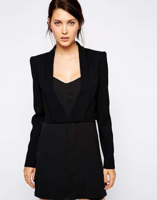 Love the BCBG Max Azria BCBGMAXAZRIA Cropped Sharp Jacket on Wantering.