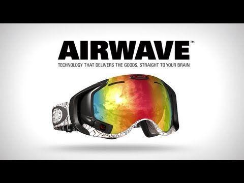 7ce7769eaa485 Un vrai masque de Top Gun - Oakley Airwave - GPS Enabled Goggle 600 € !