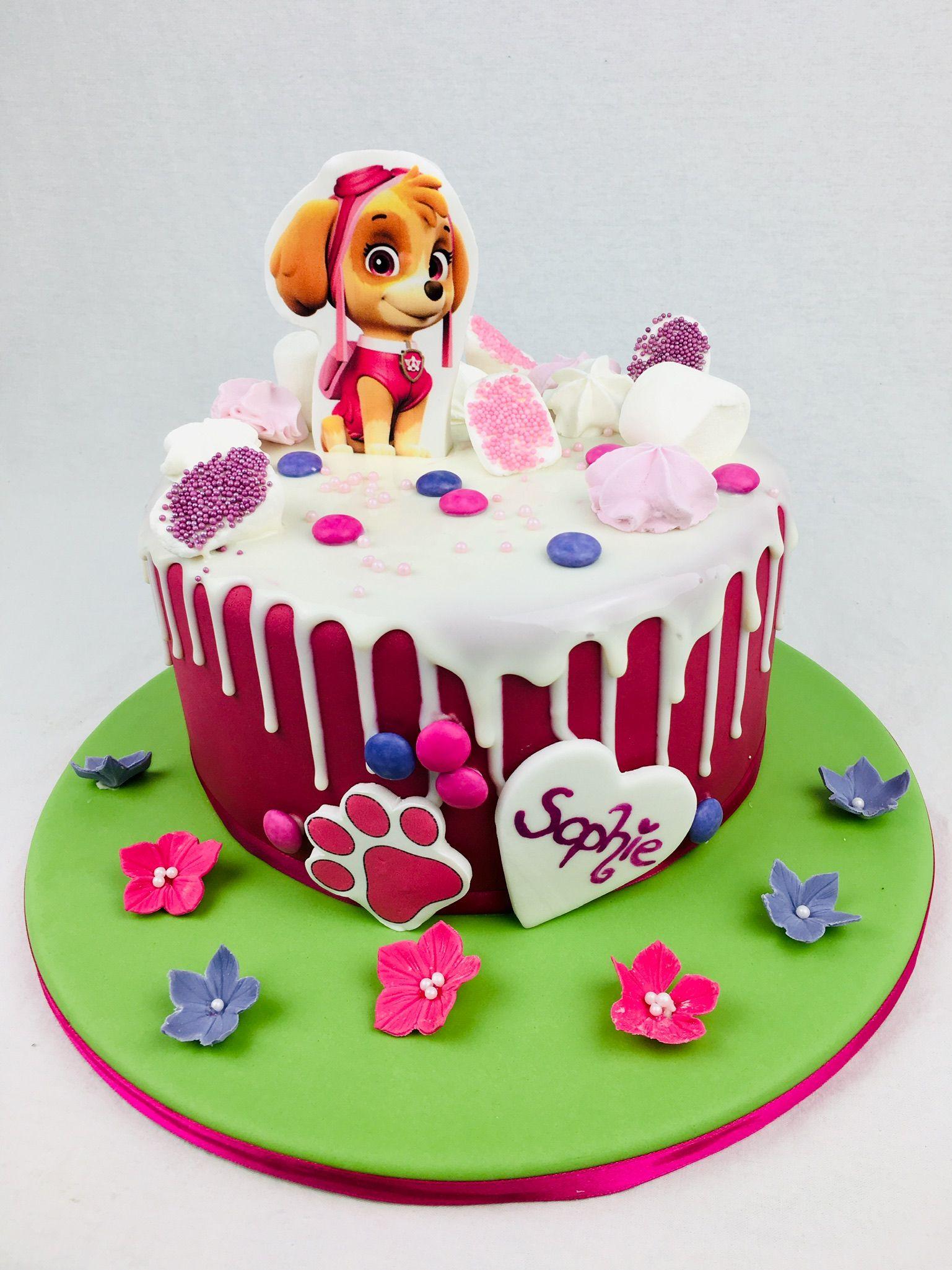 Paw Patrol Geburtstagstorte Fur Madchen Geburtstagstorte Madchen Kuchen Kindertorte