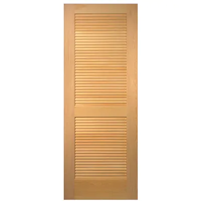 Masonite Slab Doors Unfinished Louver Solid Core Wood Slab Door Common 36 In X 80 In Actual 36 In X 80 In At Lowes Com Pine Interior Doors Wood Slab Masonite Interior Doors