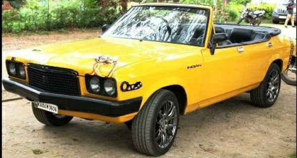 Regular Indian Cars Modified Into Beautiful Convertibles
