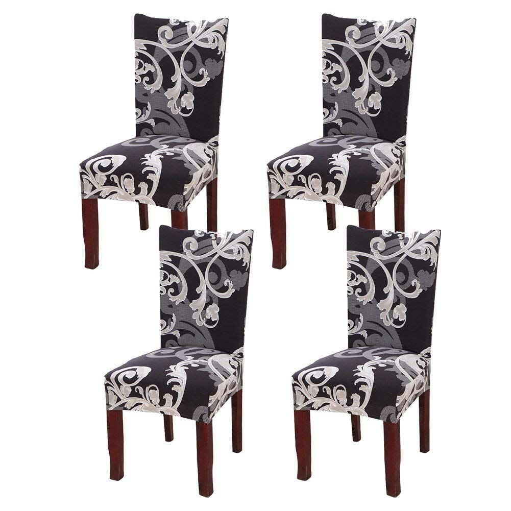 19 Best Cushion Covers For Dining Room Chairs 2019 Fabric Dining Room Chairs Dining Chair Seat Covers Patterned Dining Room Chairs