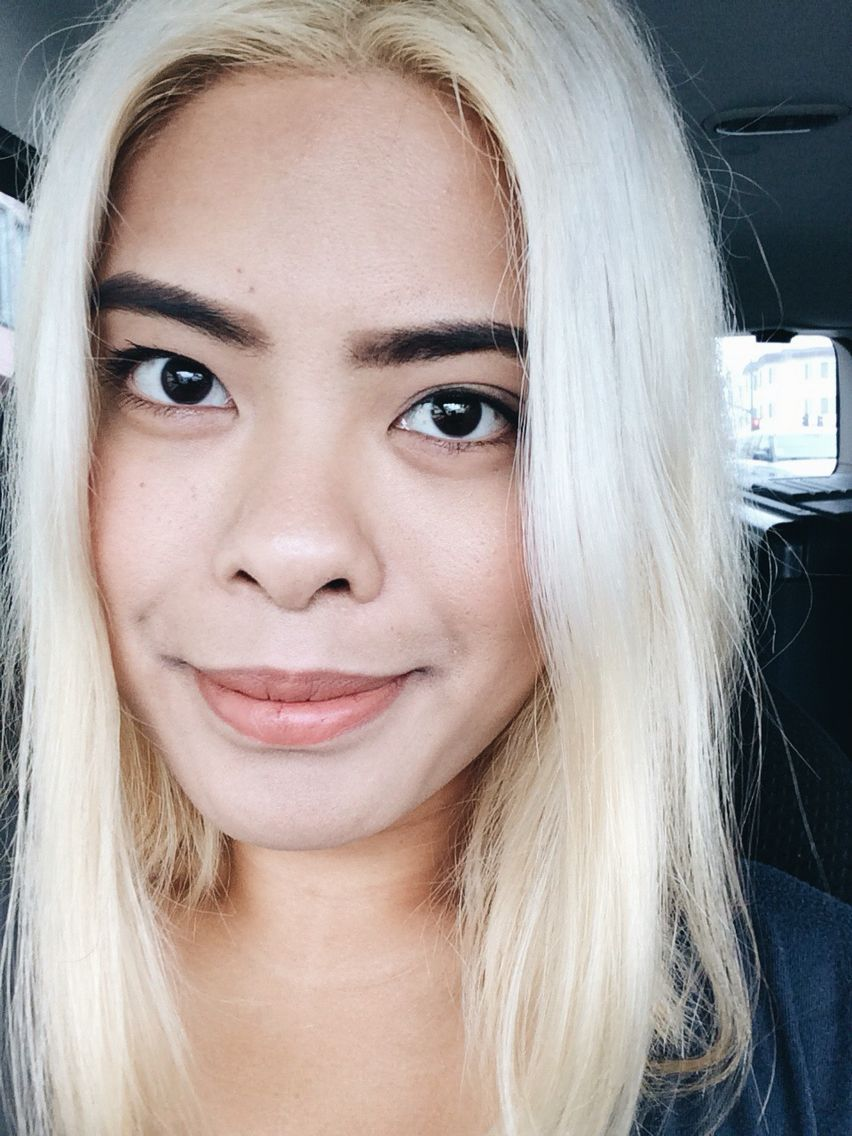 Hair platinum tan skin photo recommend to wear in autumn in 2019
