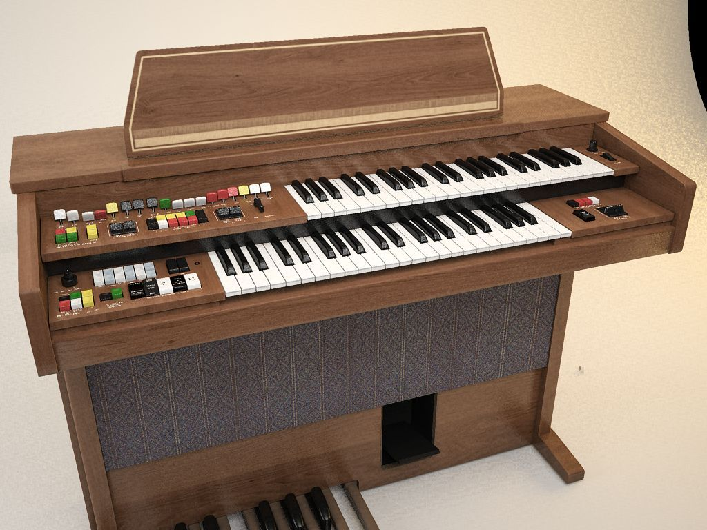 Yamaha Electone B405 organ, reminder of childhood ~ Bah ...