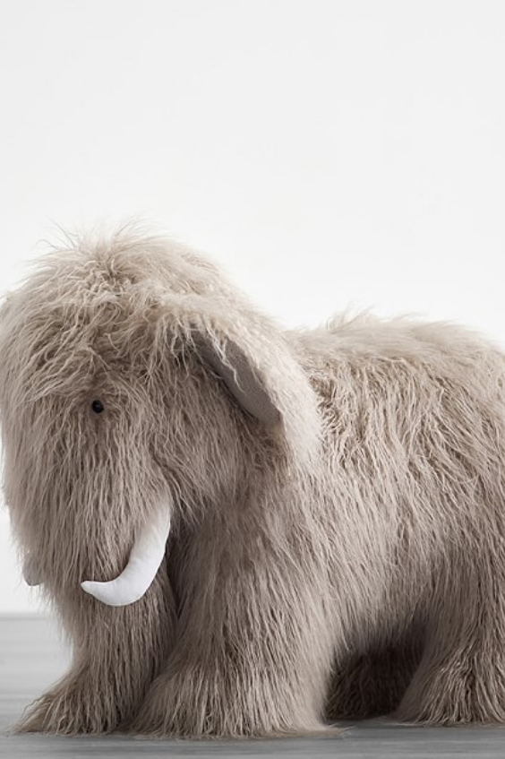 This Is One Of The Most Unique Stuffed Animals I Have Seen A Large Plush Woolly Mammoth This Soft P Wooly Mammoth Giant Stuffed Animals Monkey Stuffed Animal