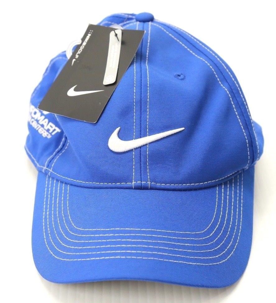 c44f643ba3bd7 Nike Unisex Adult Golf Hat Blue Adjustable Cap NWT  Nike