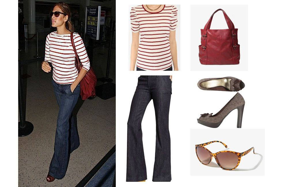 Look for less eva mendes what to wear today my style