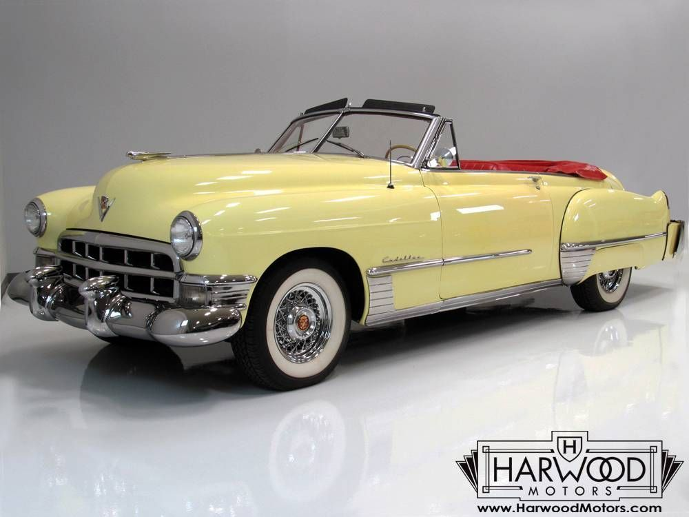 1949 Cadillac 62 Convertible #1949cadillacconvertibleclassiccars