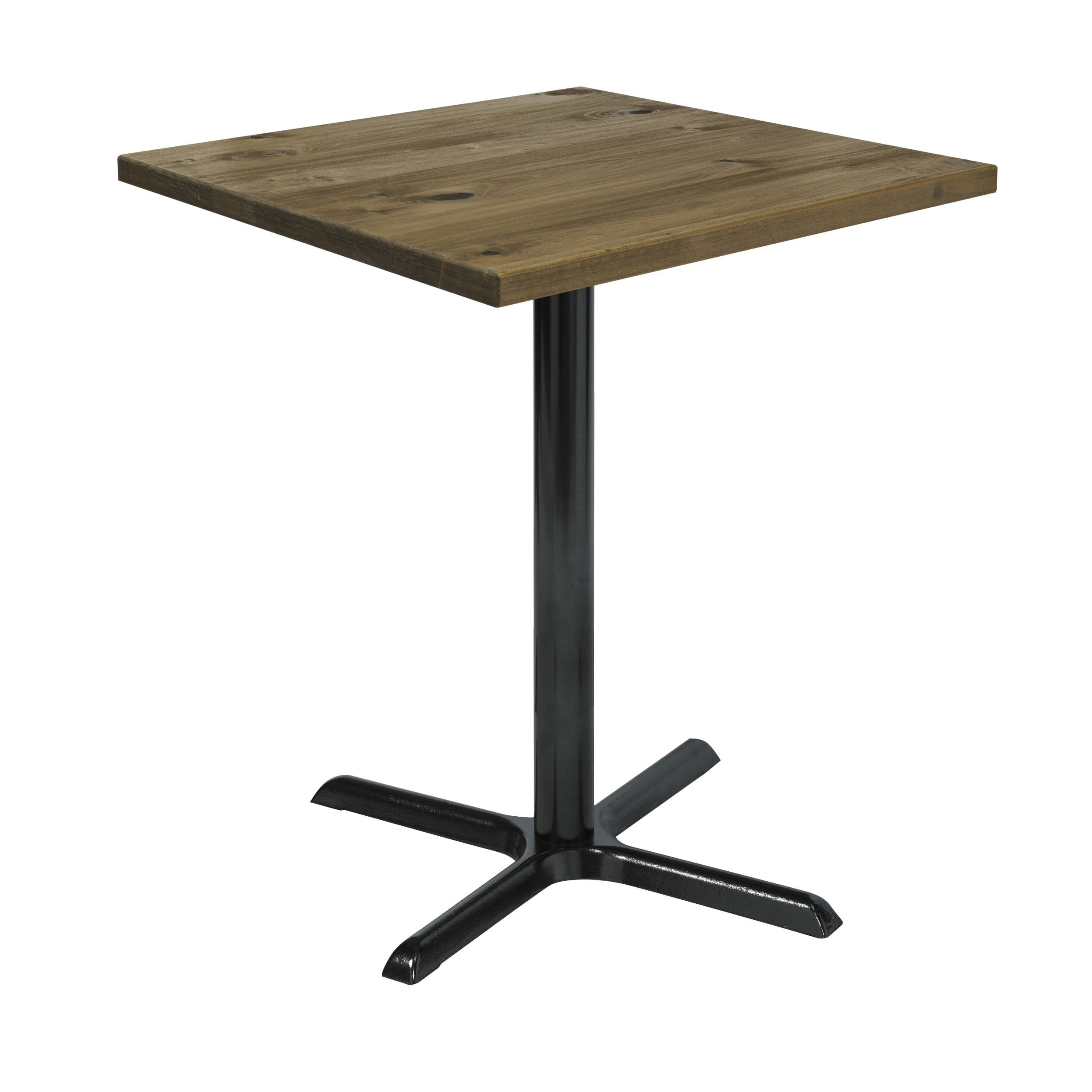 Urban Loft 30 Inch Square Vintage Bistro Table