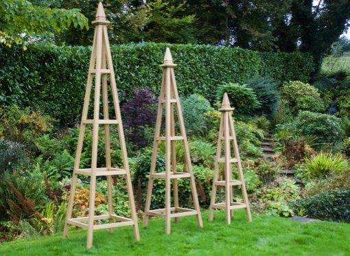 Sponsor The Scoop Online Survival Of The Fittest Of Obelisk Garden  Trellises For Sale And Wooden Obelisk Trellis Exempt Upward To 4 Foot  Western Red True ...