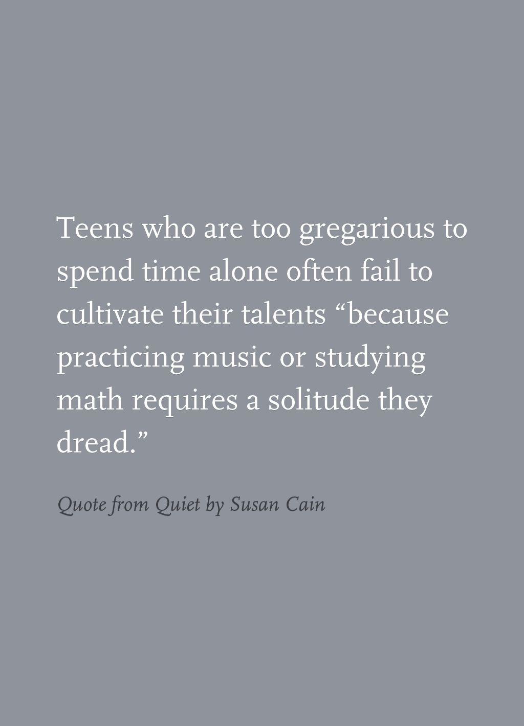 Quote From Quiet By Susan Cain Book Quotes Quotes Introversion