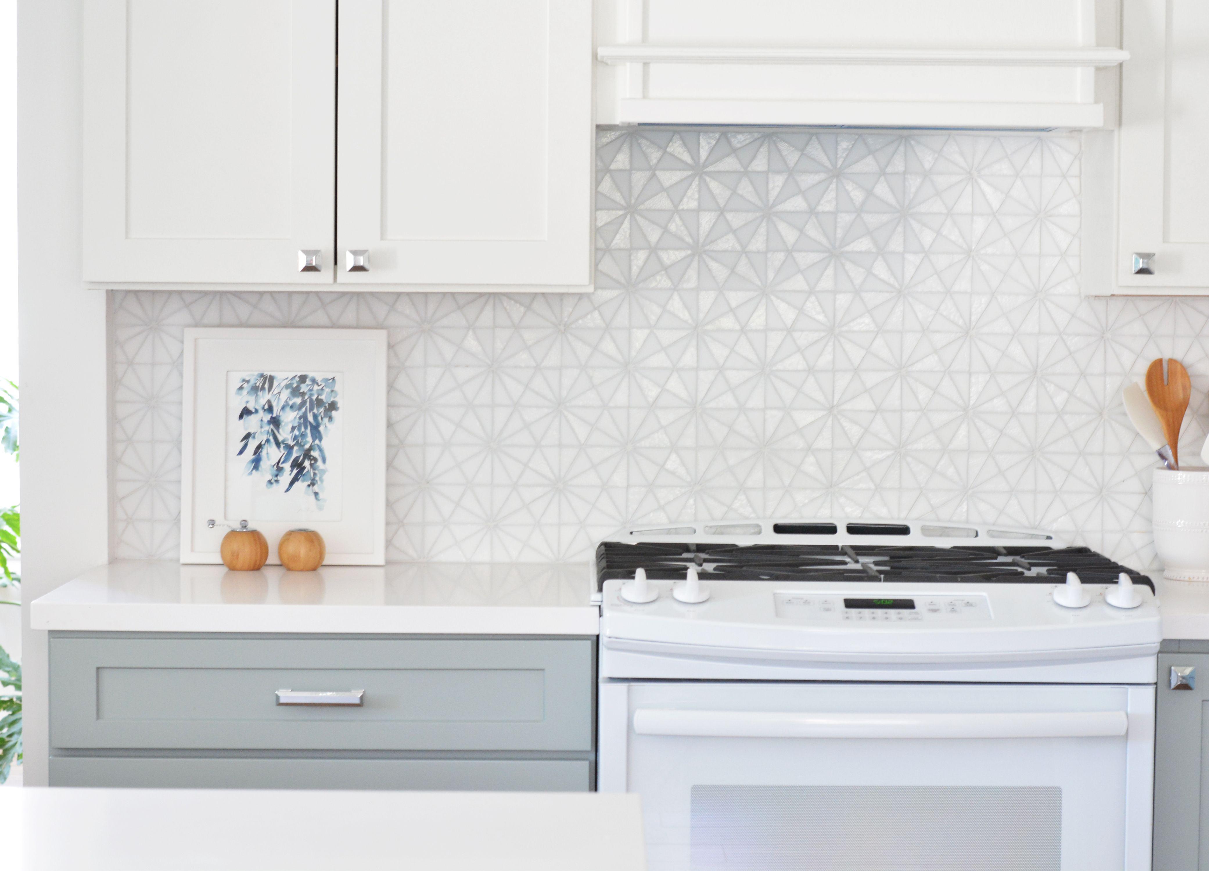Kitchen girl hd girls kitchen patterned backsplash tile kitchen ideas