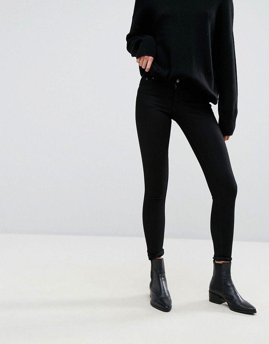 Ebay Online Skinny Jeans Low Skin black denim Cheap Monday Professionel Rabatt Bester Verkauf iQjSNM