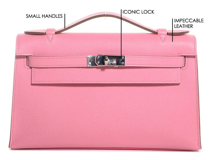 Hermes Kelly Pochette Bag  661cbd7dc5d64
