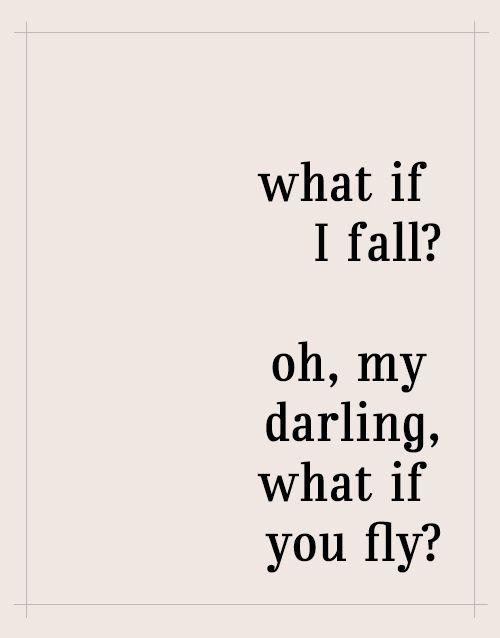 .¿Qué pasa si me caigo? ¿Y qué pasa si vuelas?