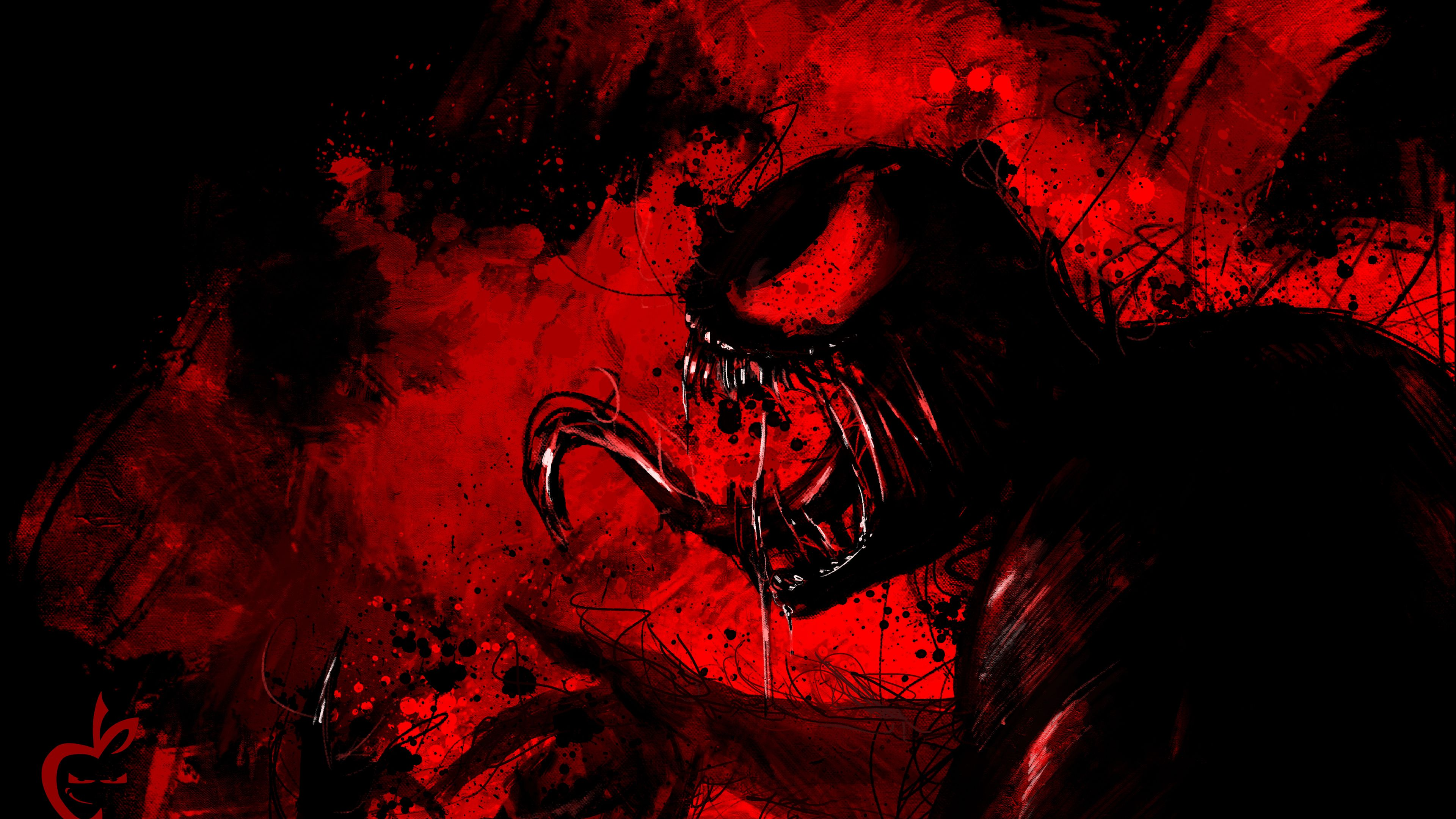 Carnage Artworks 4k Supervillain Wallpapers Superheroes Wallpapers Hd Wallpapers Digital Art Wallpapers Carnage Wallpapers A Art Wallpaper Carnage Artwork