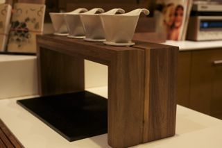Pour over station - need this! hmmm maybe I can commission an awesome woodworker to build me one?