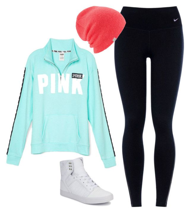 """""""#026"""" by kaycee-love-velasquez on Polyvore featuring Victoria's Secret, NIKE, Coal and Supra"""