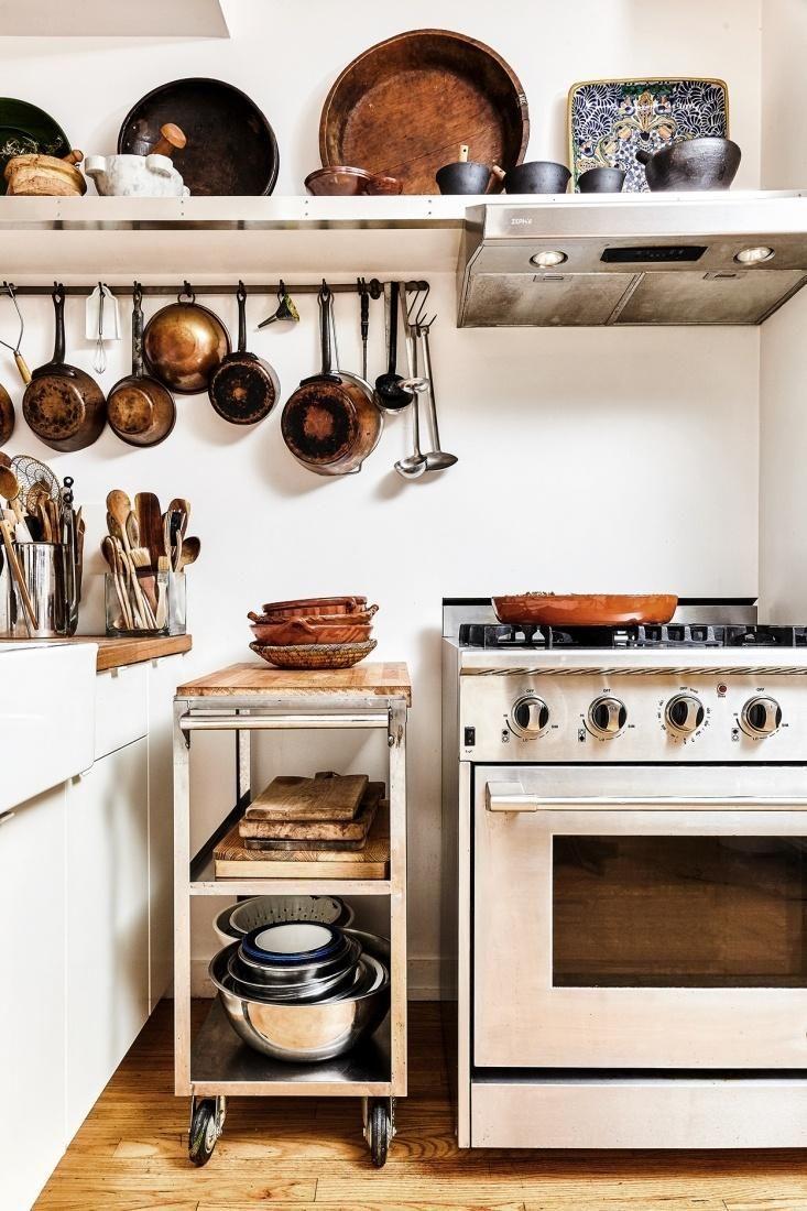 Mobile Storage Unit. Chef David Tanisu0027s East Village Kitchen.