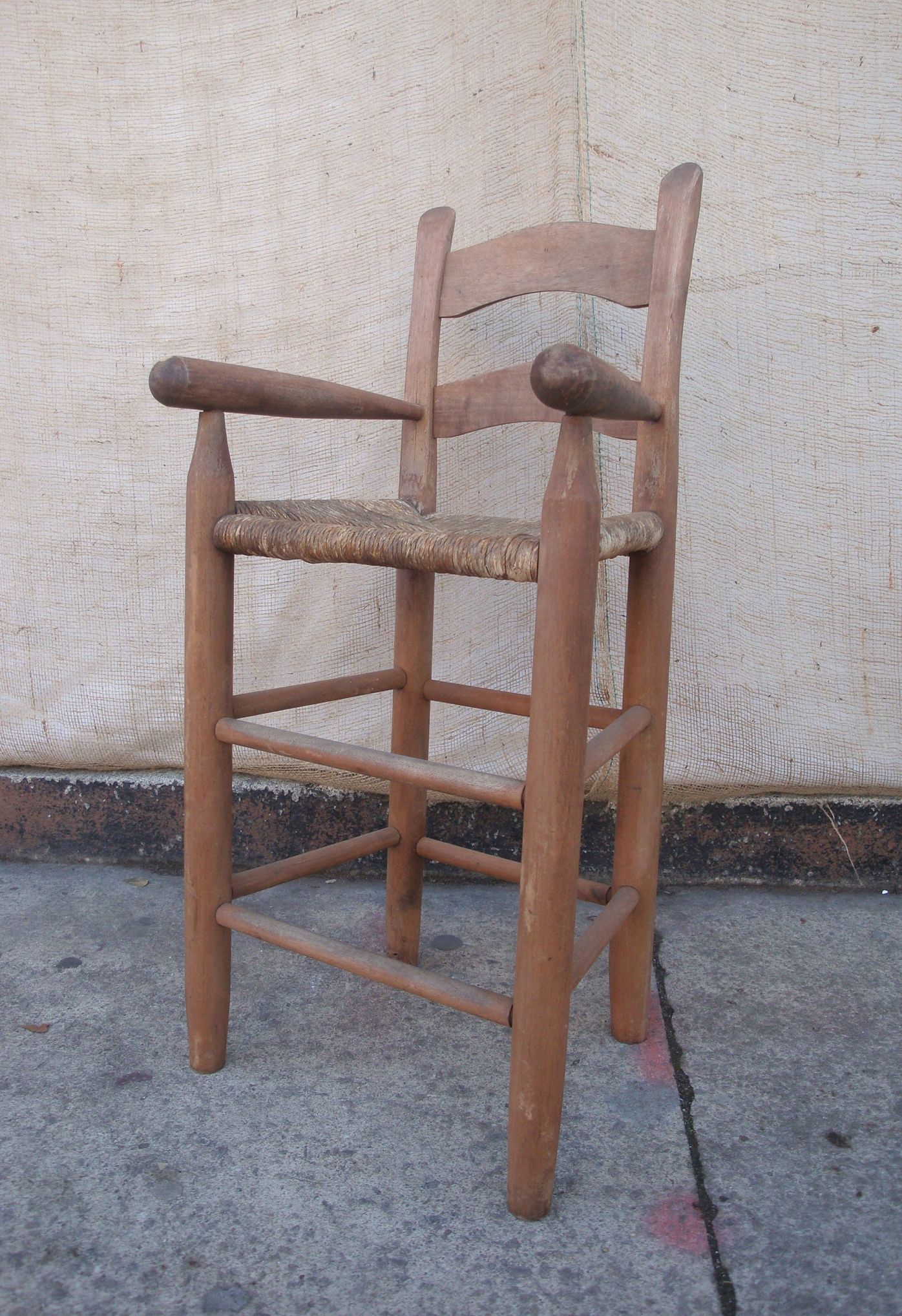 Tall Antique Child's High Chair - Tall Antique Child's High Chair Woodwork Pinterest High Chairs