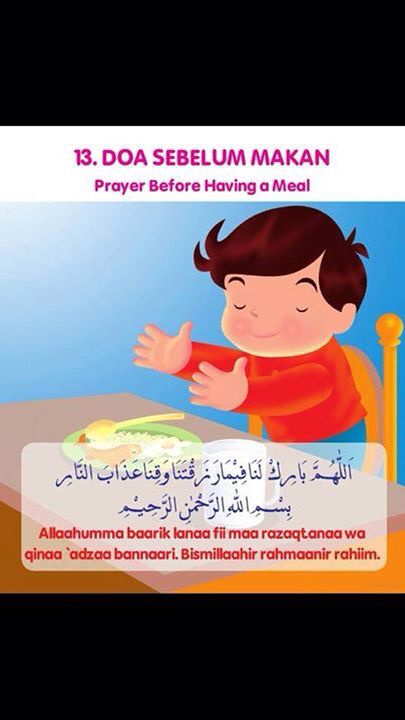 Gambar Anak Berdoa Sebelum Makan : gambar, berdoa, sebelum, makan, Sebelum, Makan, Anak,, Pendidikan