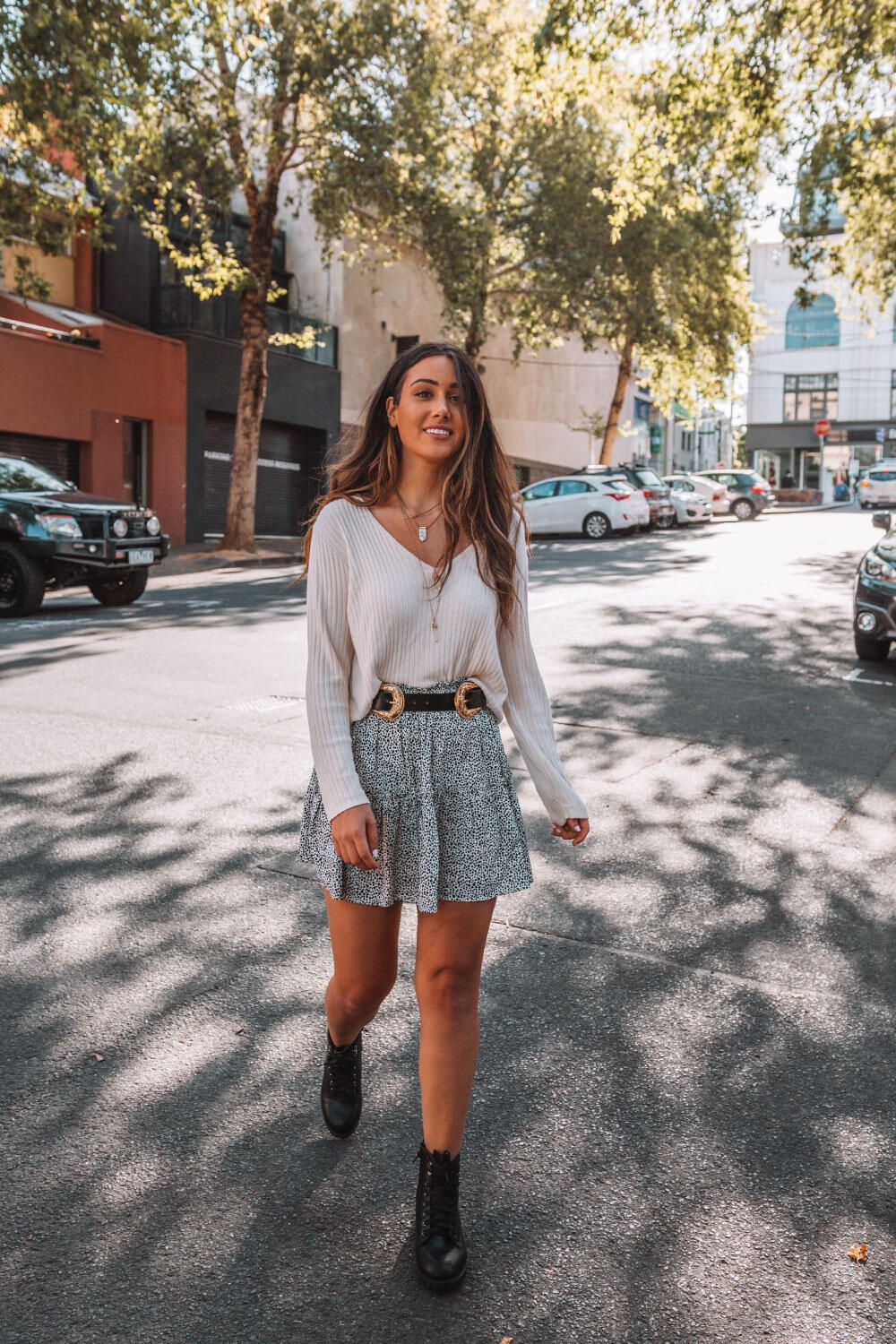 Fall Mini Skirt Outfits to Copy Right Now