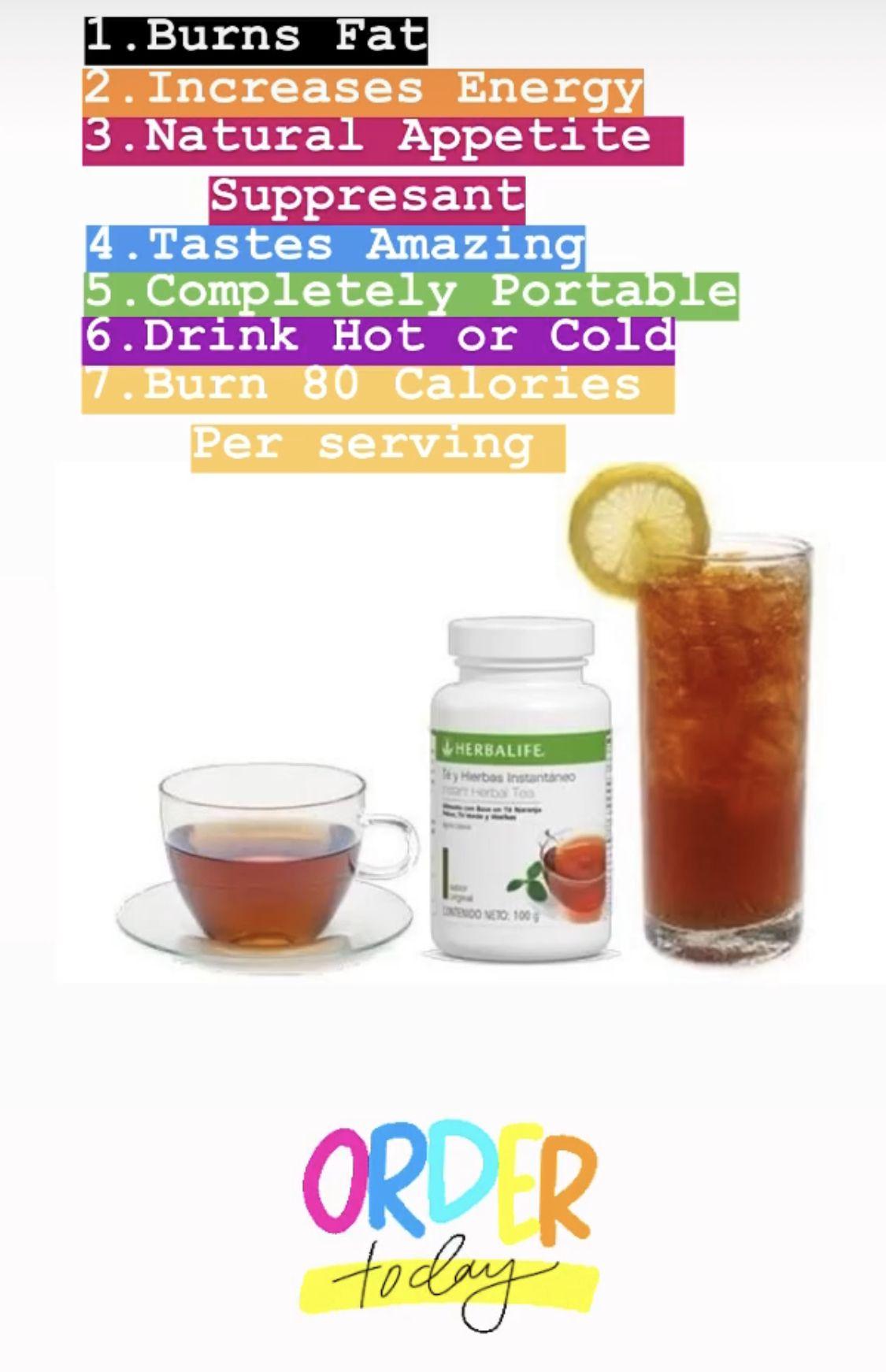 Herbal Concentrate Tea Herbalife, Herbal tea concentrate