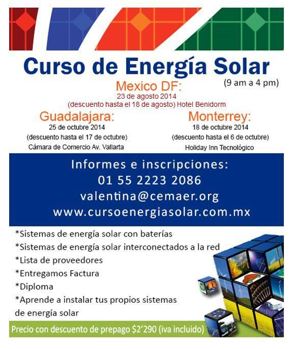 Curso De Energia Solar Aprende A Instalar Tu Propio