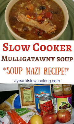 Slow Cooker Mulligatawny Soup Recipe #mulligatawnysoup