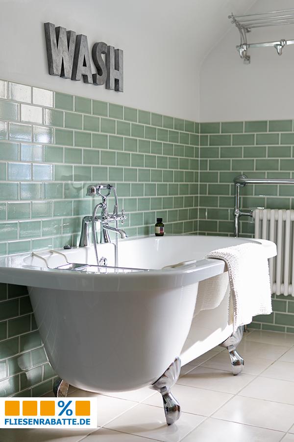 Perfekt Mit Den #Fliesen Im #Retrostyle Können Authentische Konzepte Im #Badezimmer  Realisiert Werden /