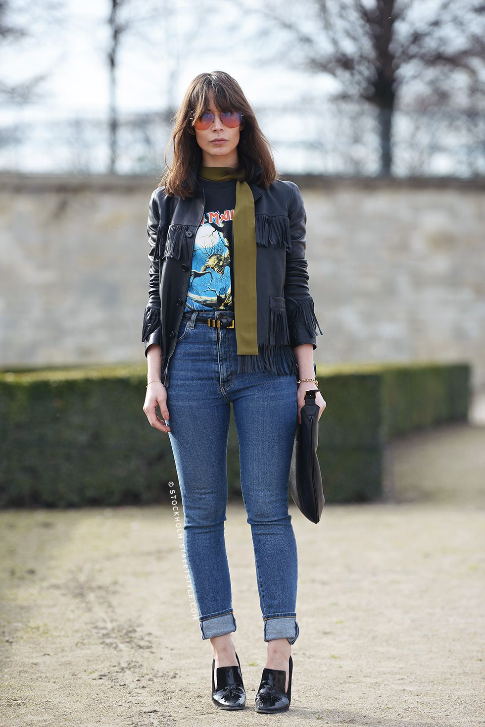 101 Ways to Wear a Leather Jacket | StyleCaster
