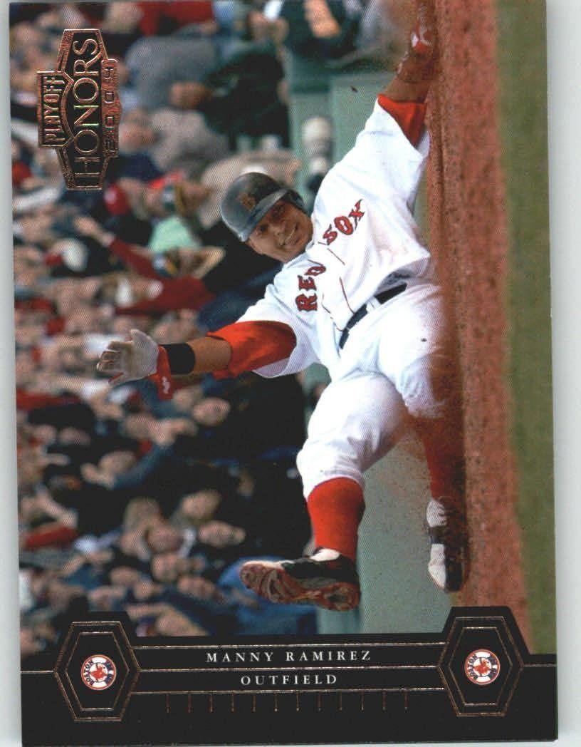 2004 playoff honors 38 manny ramirez boston red sox