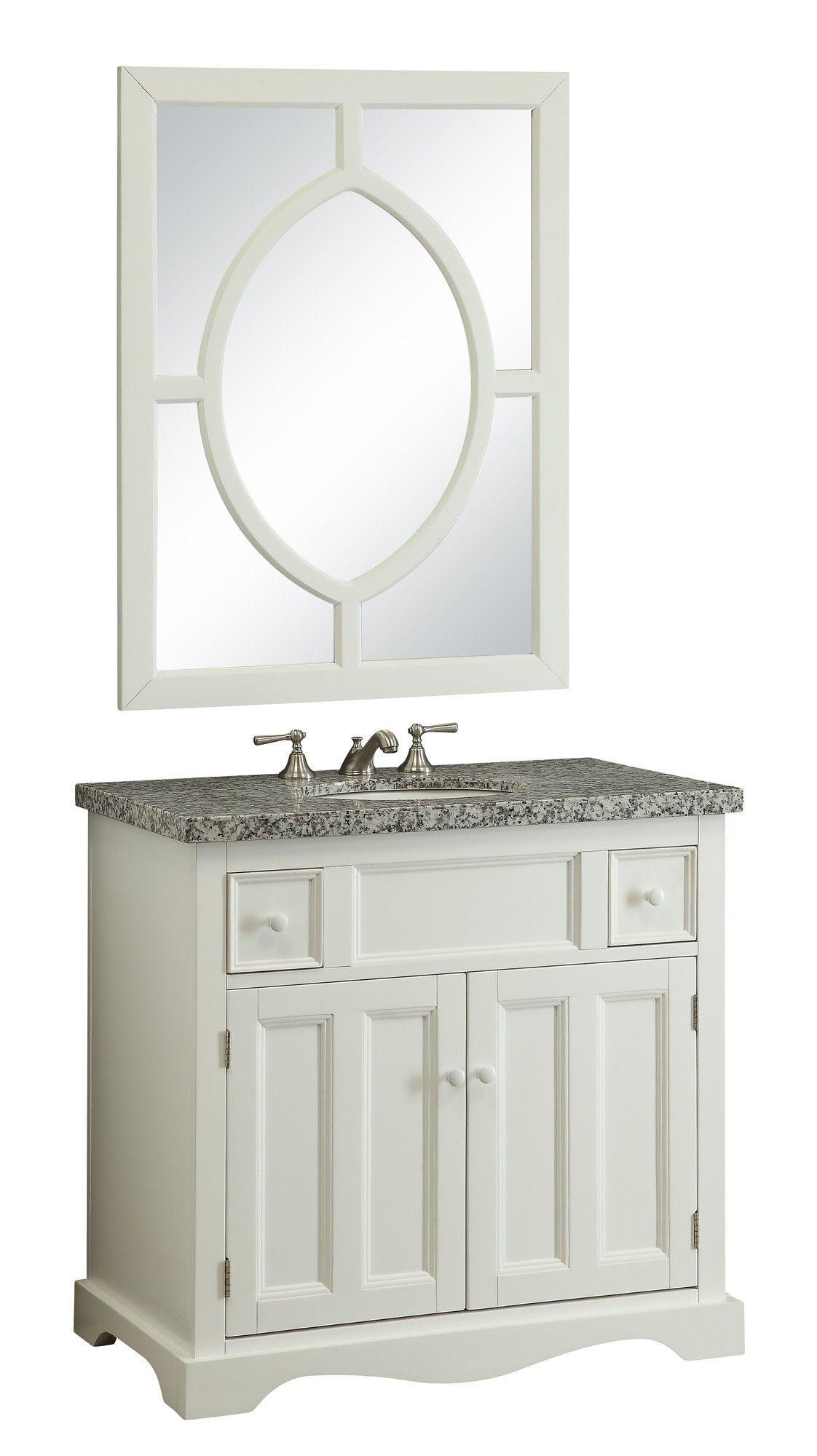 Morton 35 Bathroom Vanity Set With Mirror Bathroom Vanity Storage Bathroom Vanity Bathroom Sink Design