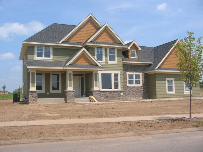 Green Exterior House Color Combinations Visit Roellpainting Com - Exterior home color schemes