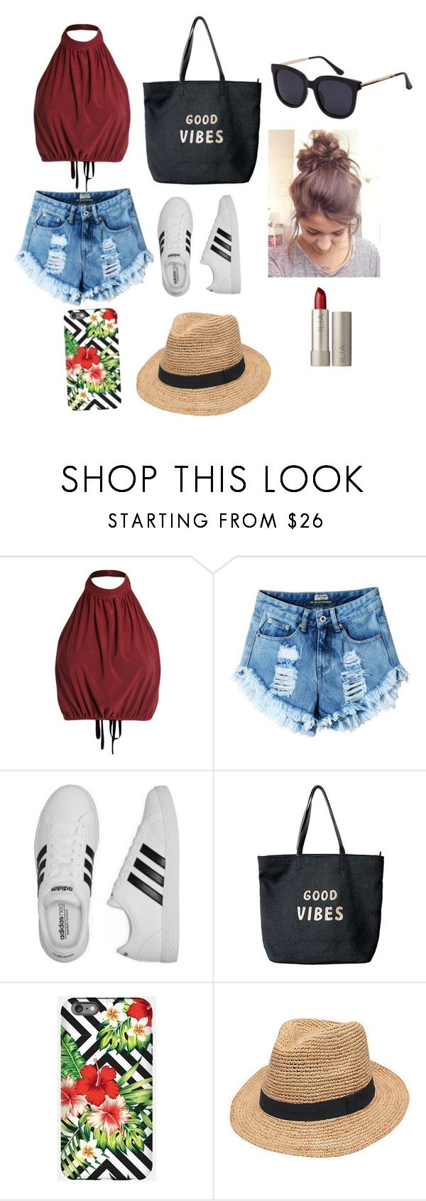 """""""Untitled #227"""" by timcaaa on Polyvore featuring adidas, Venus, Gottex and Ilia"""