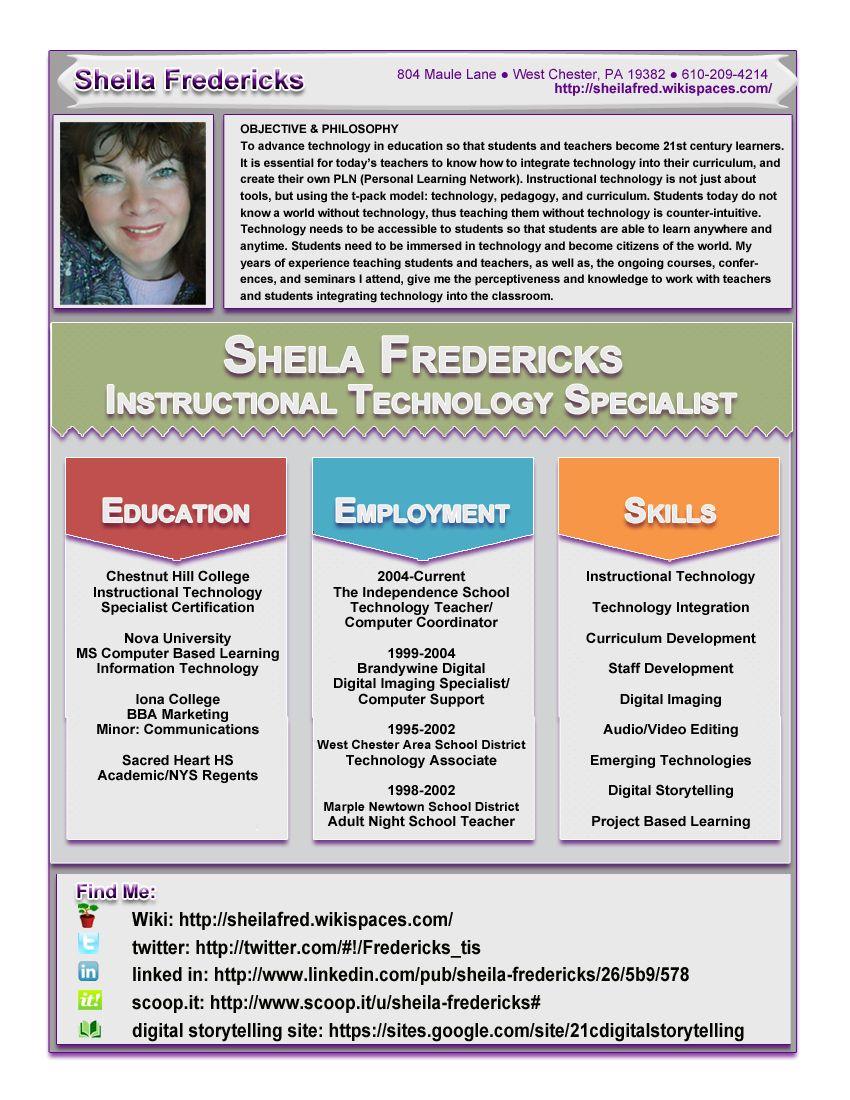 Resume InfographicEducate LLC.jpg Teacher resume