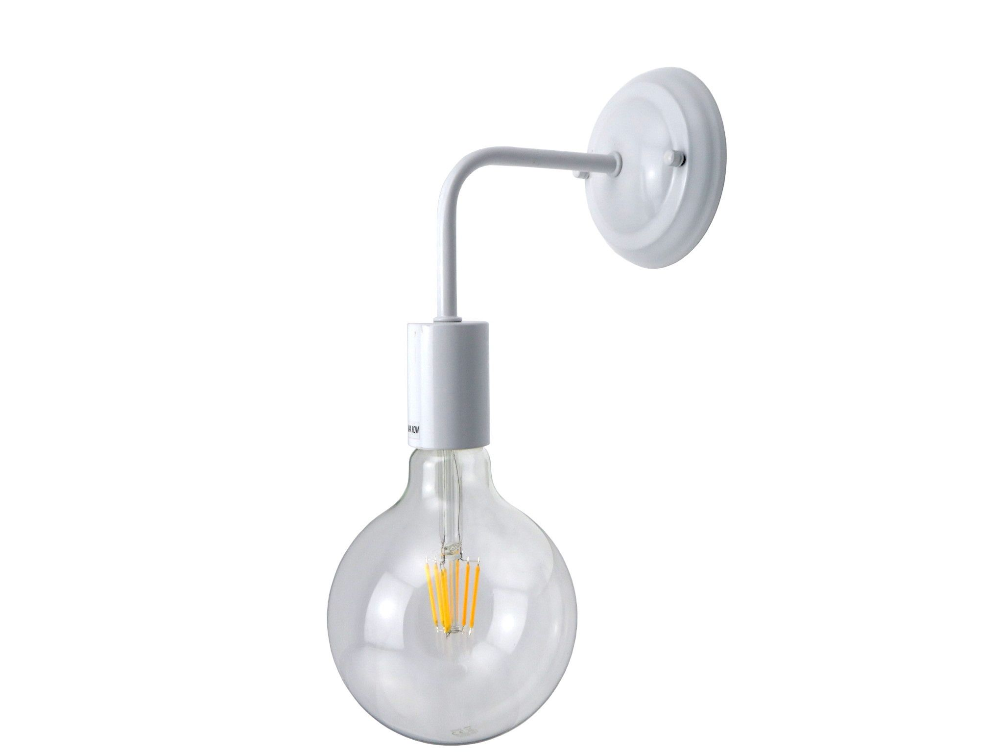 Lampada da parete dal design moderno minimale struttura in metallo